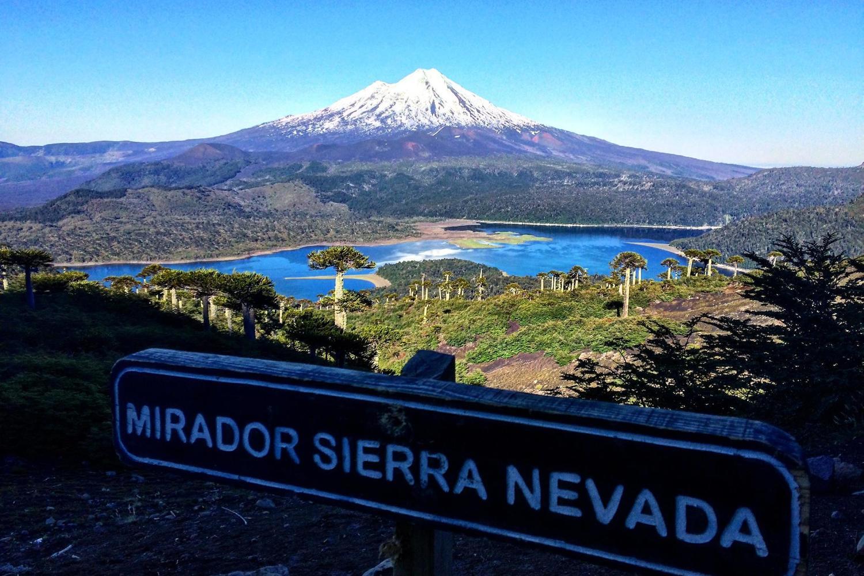 The mirador de Sierra Nevada in Conguillio National Park