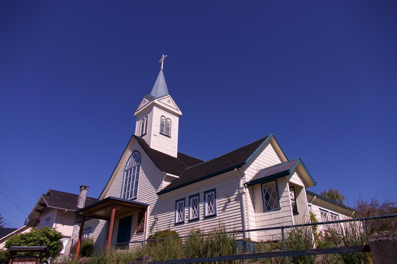 German-built church in Frutillar