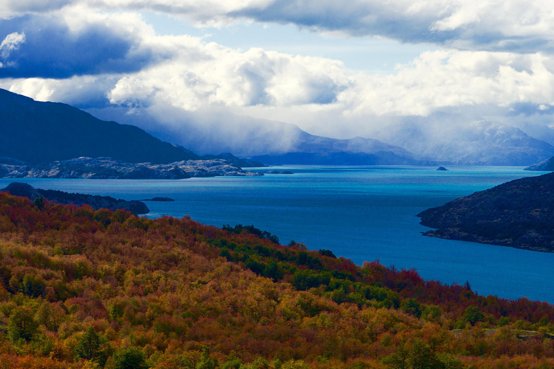 The beautiful Lago General Carrera