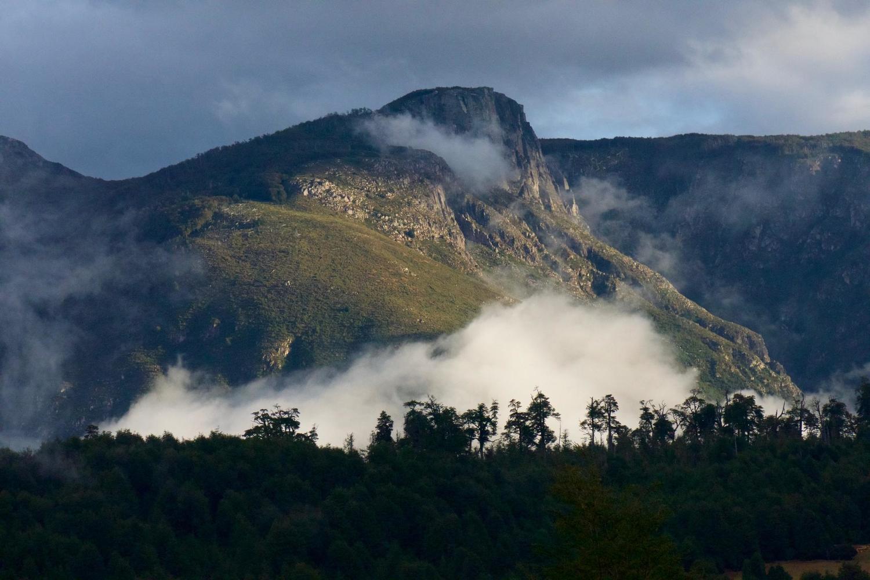 Evening light in the Futaleufu Valley