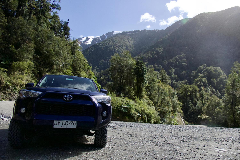 Driving the Carretera near Queulat