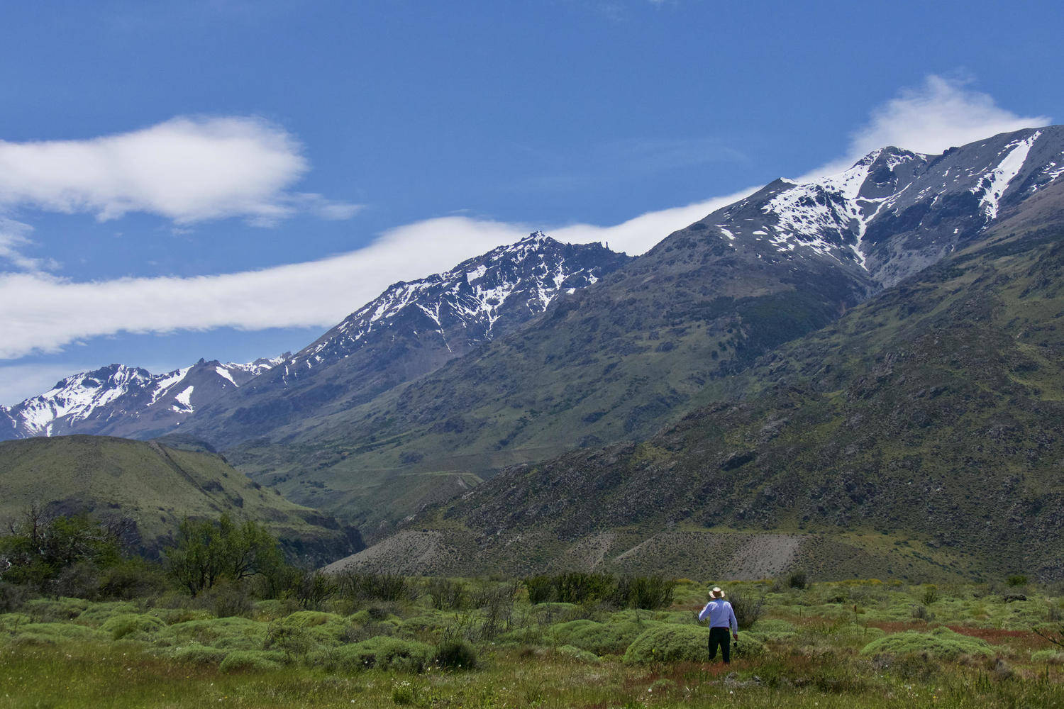 Walking the Aviles Trail in Parque Patagonia