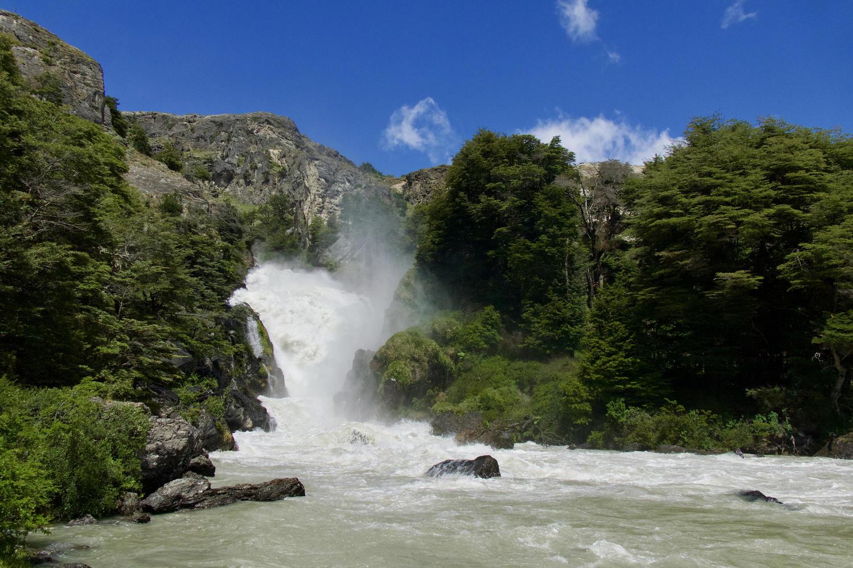 The Salto Grande of the Rio Cochrane