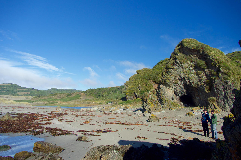 The empty Pacific beaches of Chiloé Grande