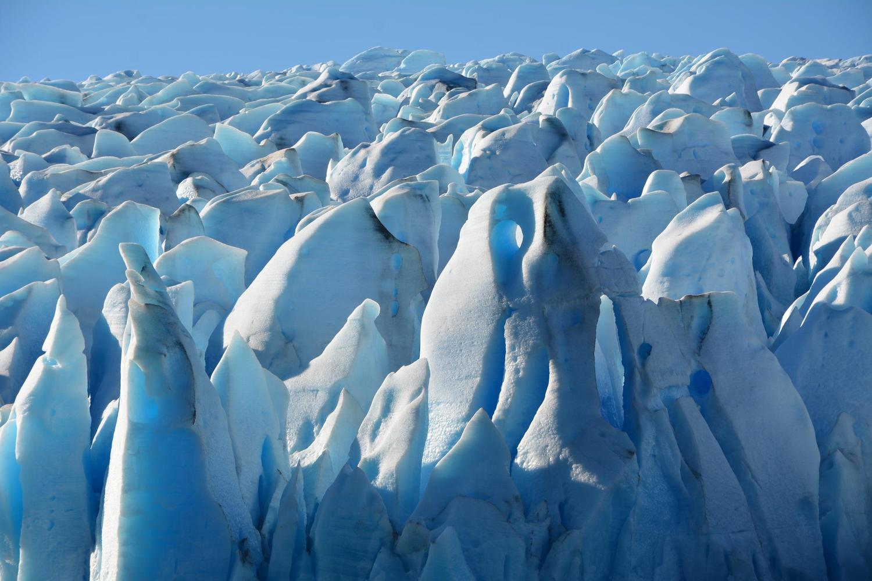 Glacier Grey formations