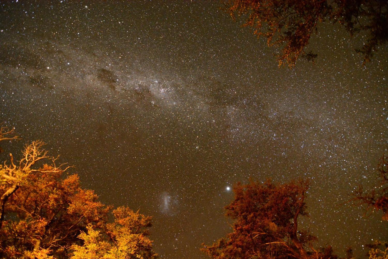 Fabulous night skies in Torres del Paine.