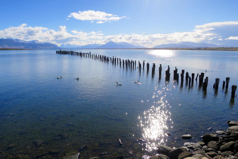 The old pier in Puerto Natales