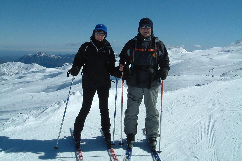 Ready to enjoy a day on the pistes of Valle Nevado ski resort