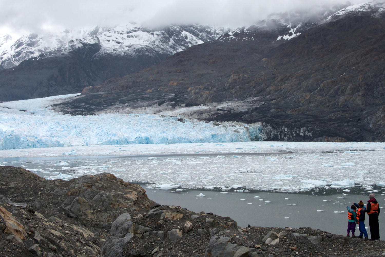 A private encounter with the Jorge Montt glacier in the Southern Patagonian icefield