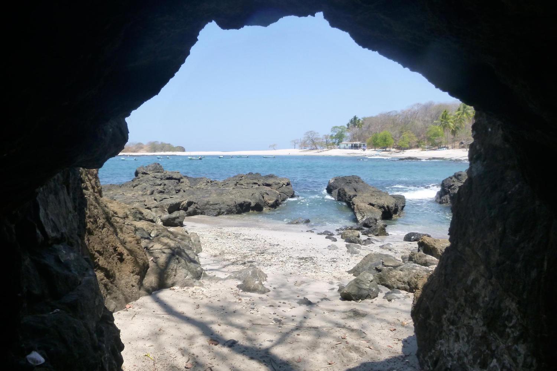 San Juanillo beach cave, Nicoya Peninsula
