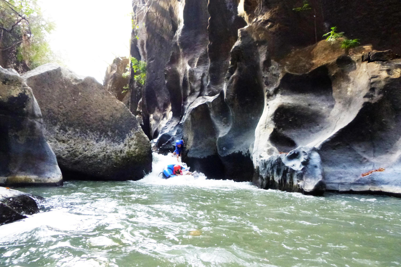 Rapid of the Rio Blanco in Rio Perdido, Tenorio
