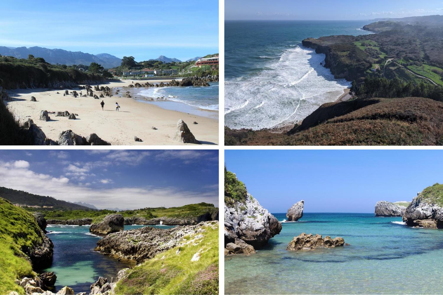 Snapshots of the Costa Verde around Llanes