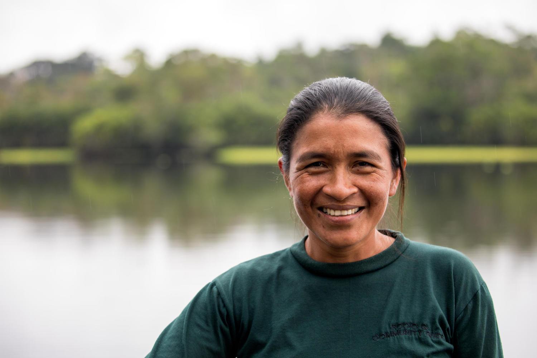Rocio Marlene - indigenous guide Eden Amazon Lodge