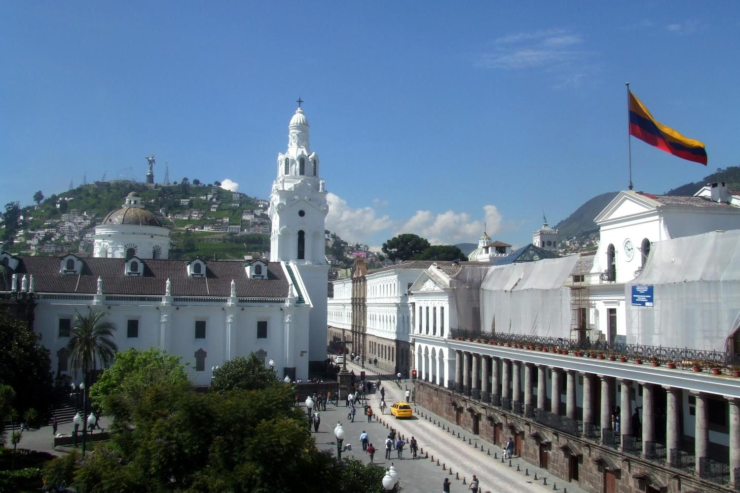The colonial heart of Quito