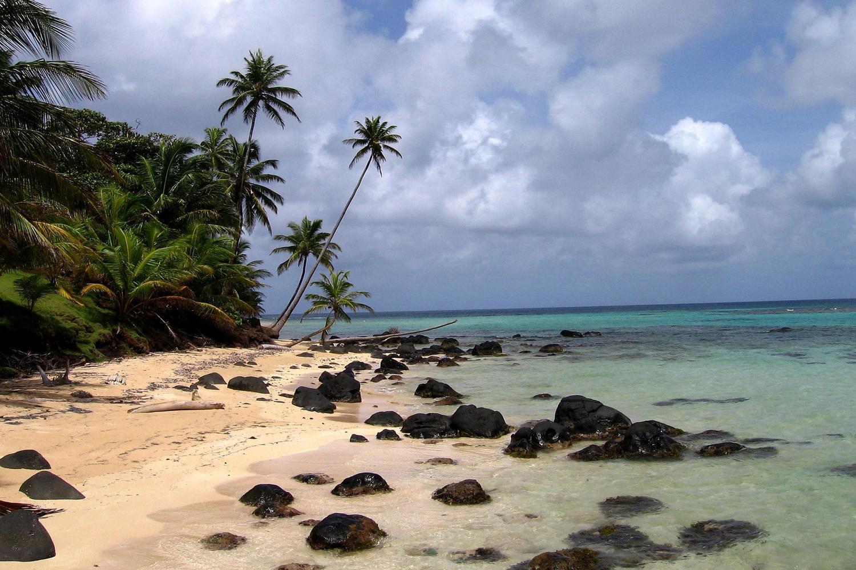 Empty beaches on Little Corn Island