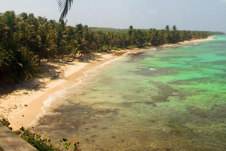 Iguana Beach on Little Corn Island, Nicaragua