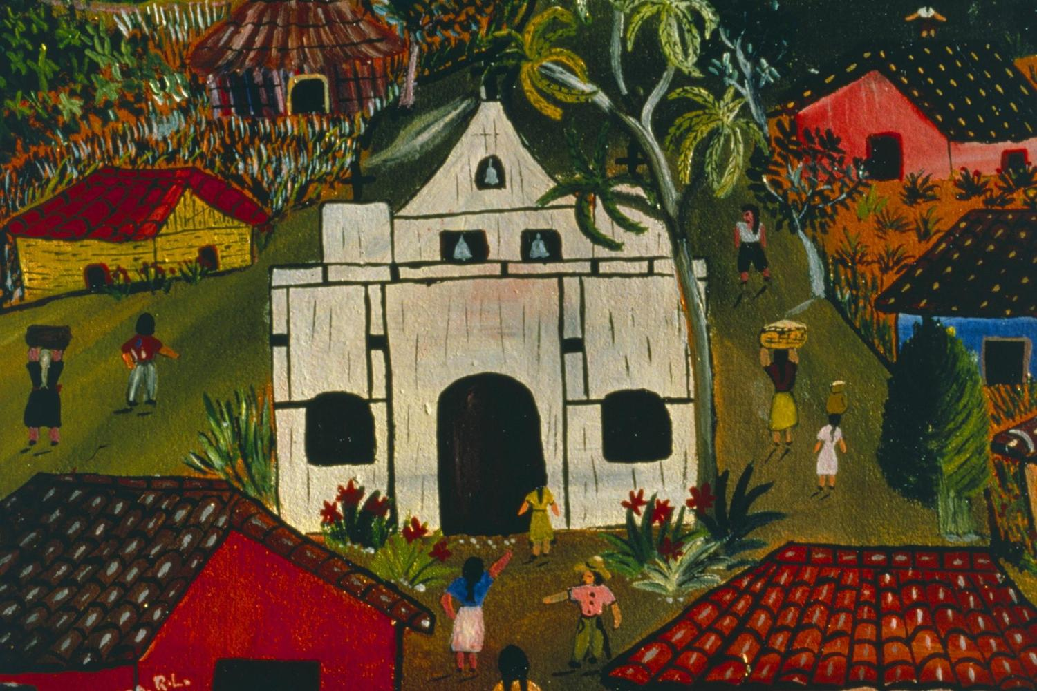 Primitivist art is a feature of the Solentiname Islands of Lake Nicaragua