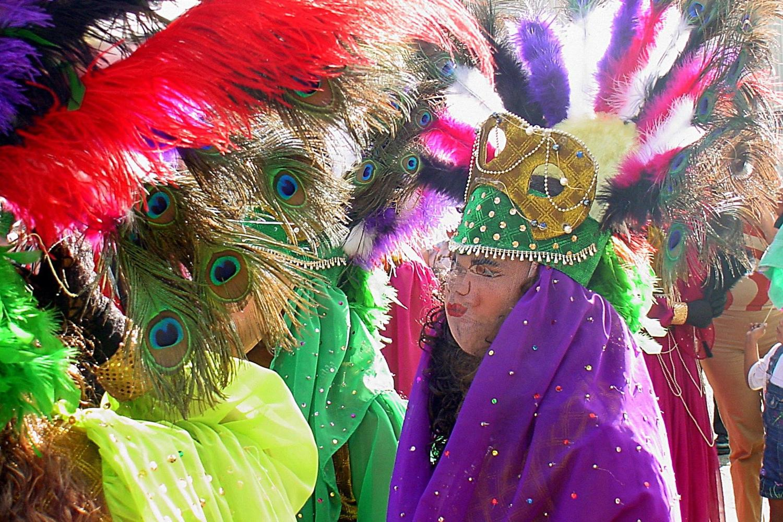 Hungaras traditional dance and costumes in Granada, Nicaragua