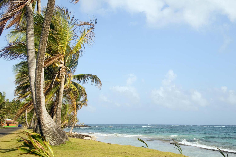 Nicaragua's Corn island beach