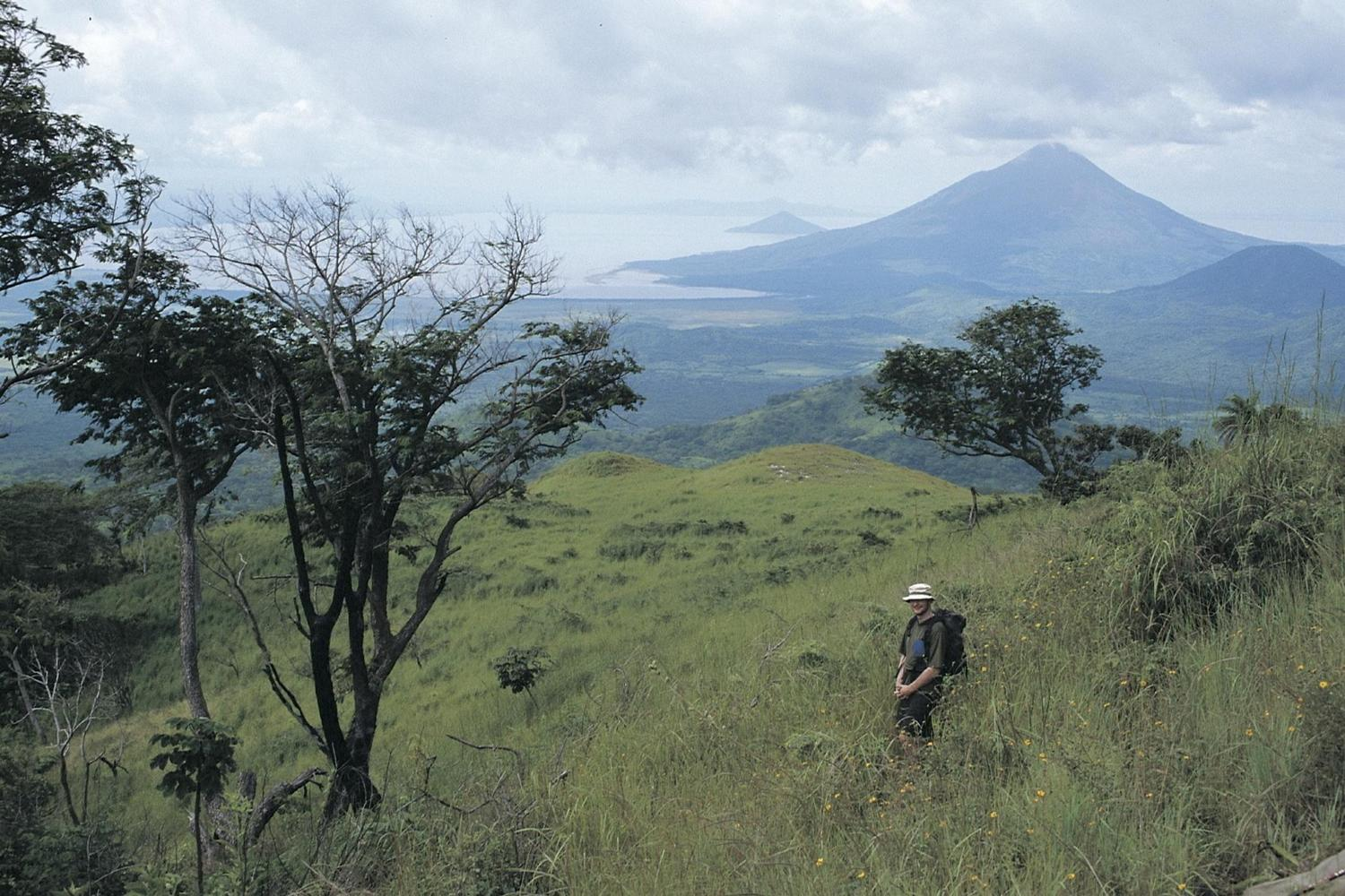 Hiking in the volcanoes of Nicaragua