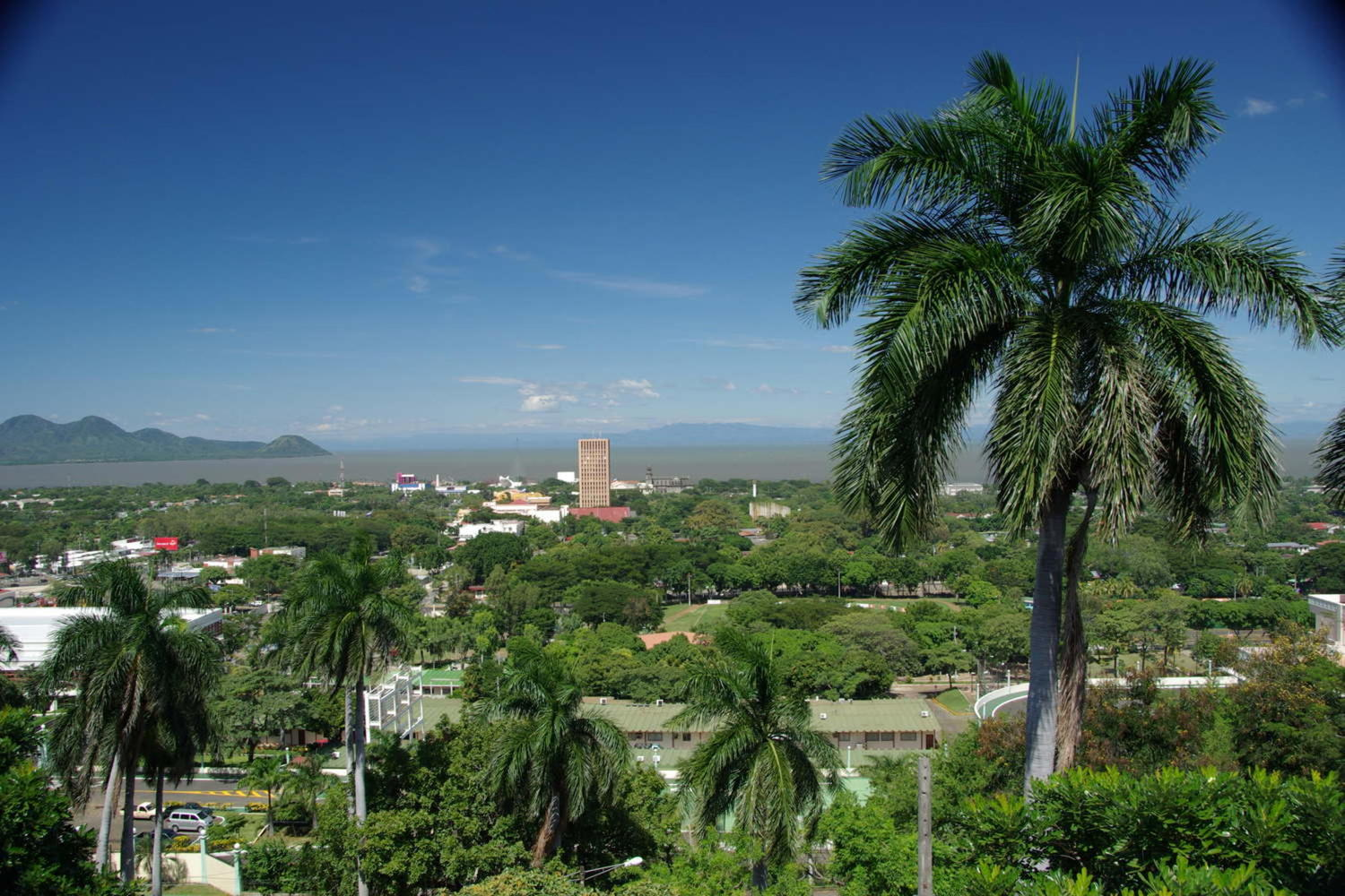 View of Managua