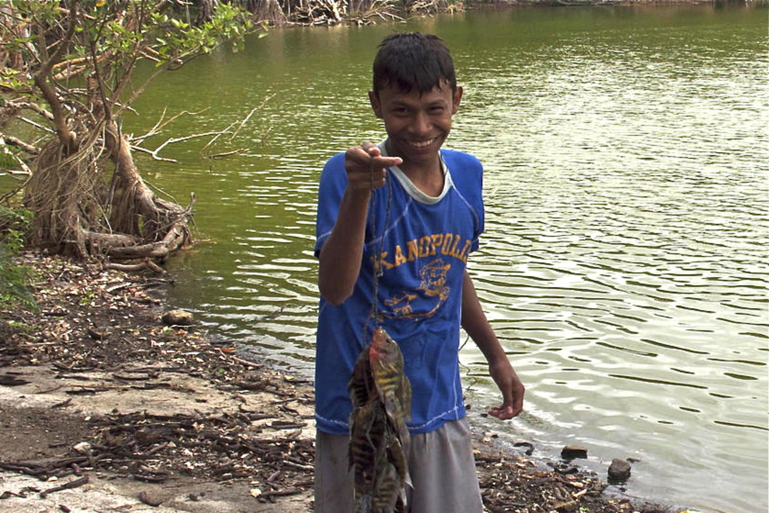Catch of the day on Ometepe
