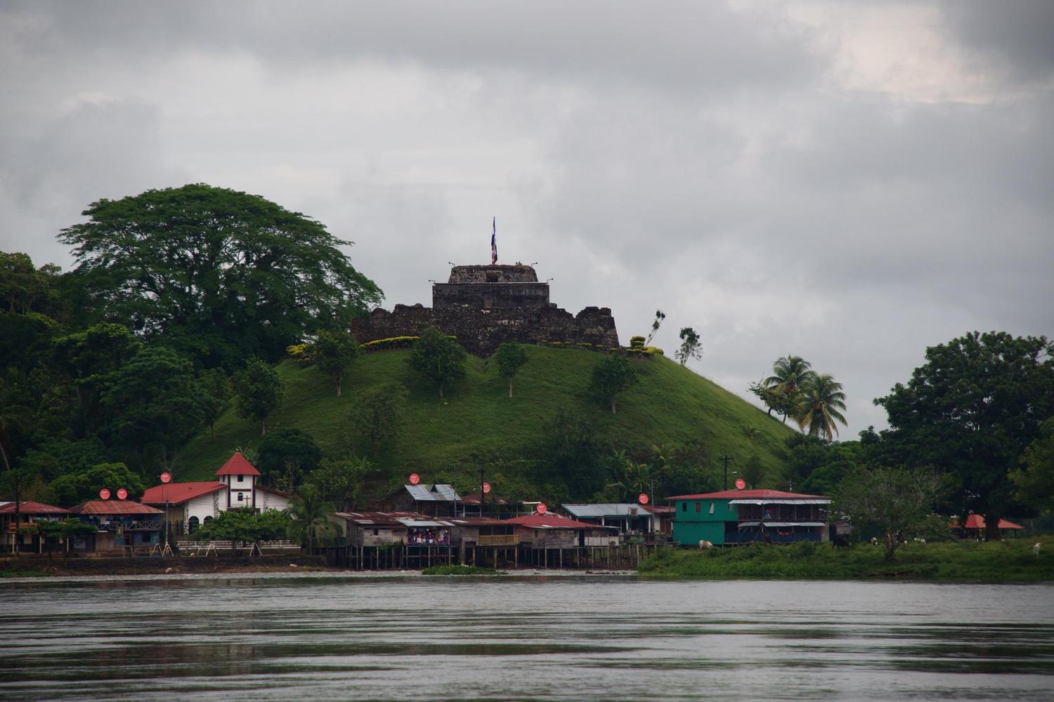 El Castillo on the Rio San Juan, built to deter Sir Francis Drake from piracy