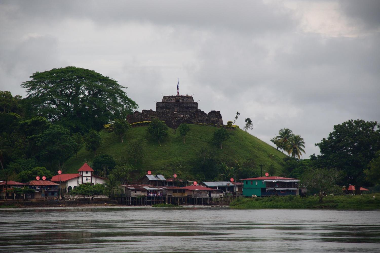 El Castillo on the Rio San Juan, built to deter Sir Francis Drake from piracy