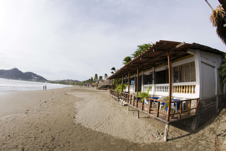 San Juan del Sur beachfront scene