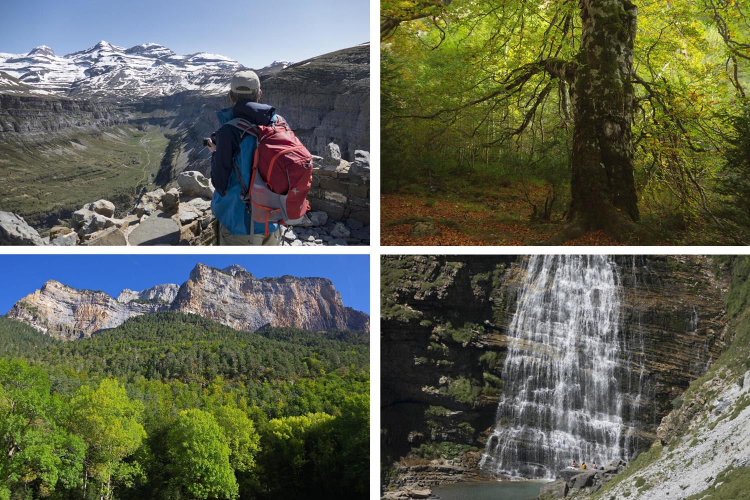 Scenic highlights from Spain's Ordesa y Monte Perdido National Park