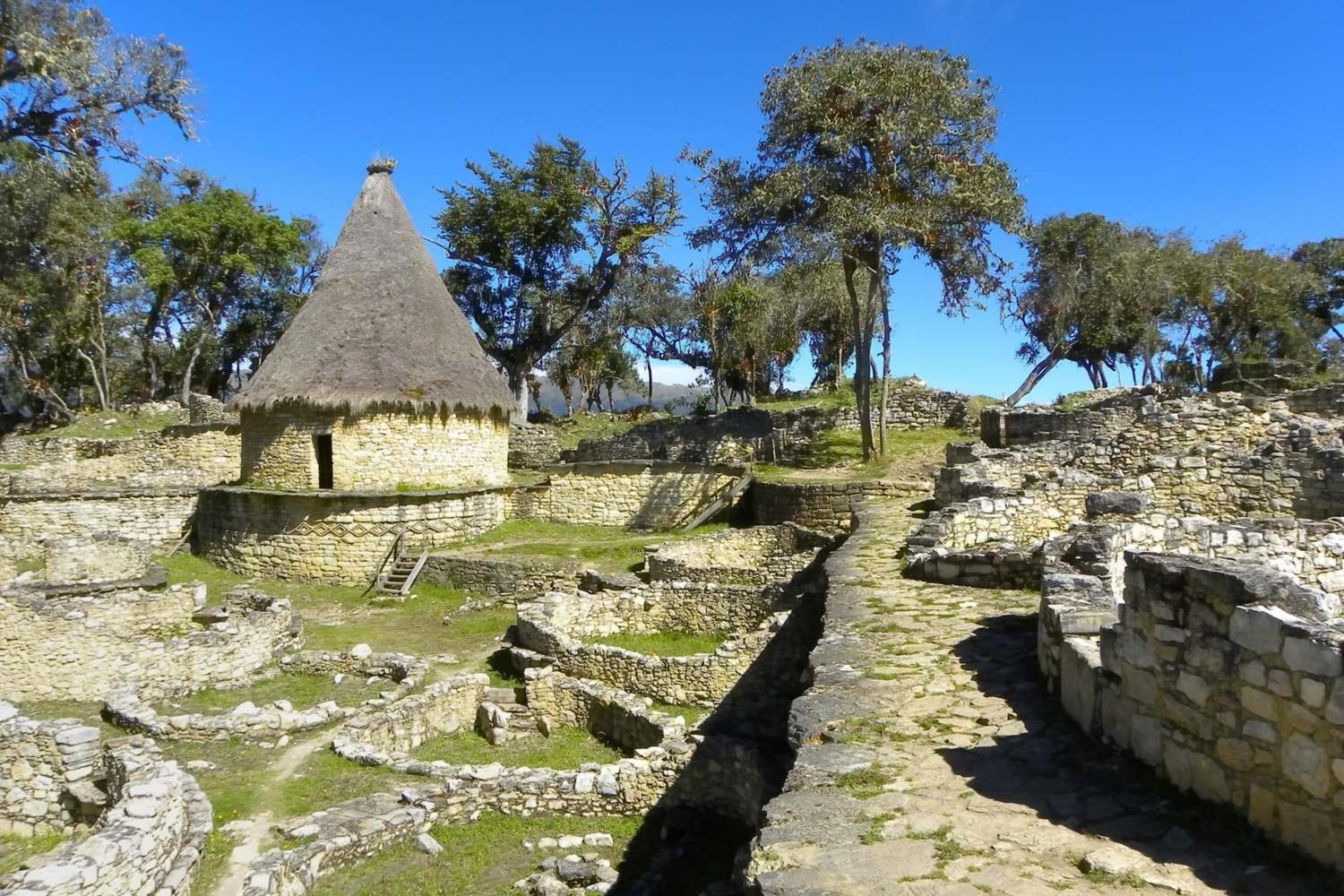 The lovely Kuelap fortress located in the Amazonas region, near Chachapoyas.