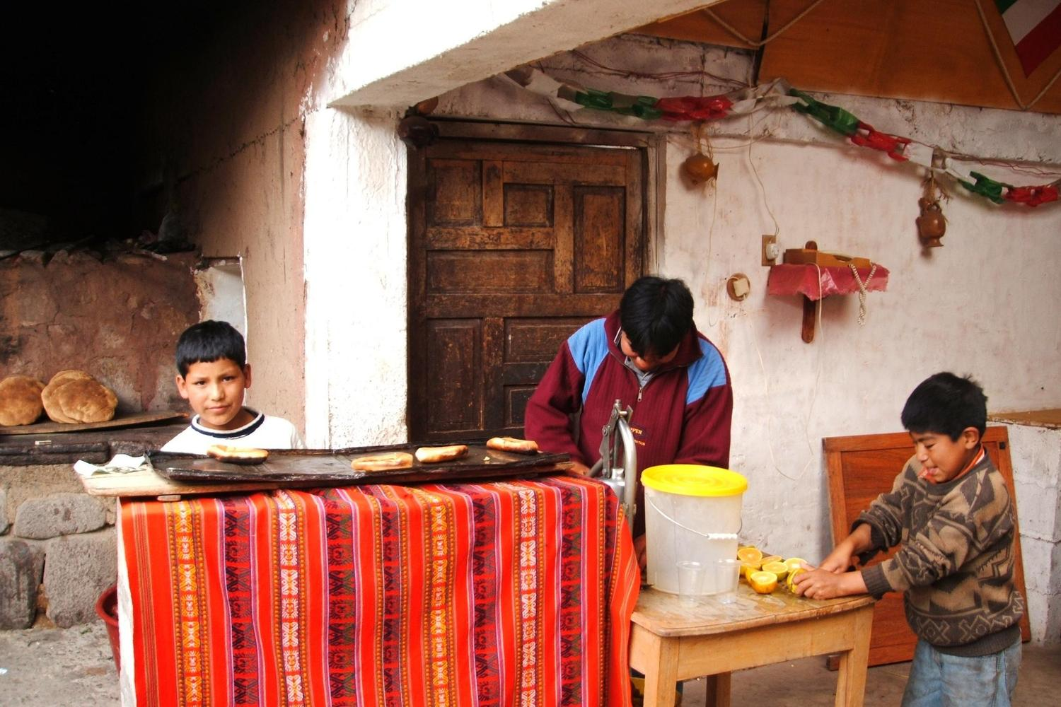 Traditional bakery in Pisac, Sacred Valley