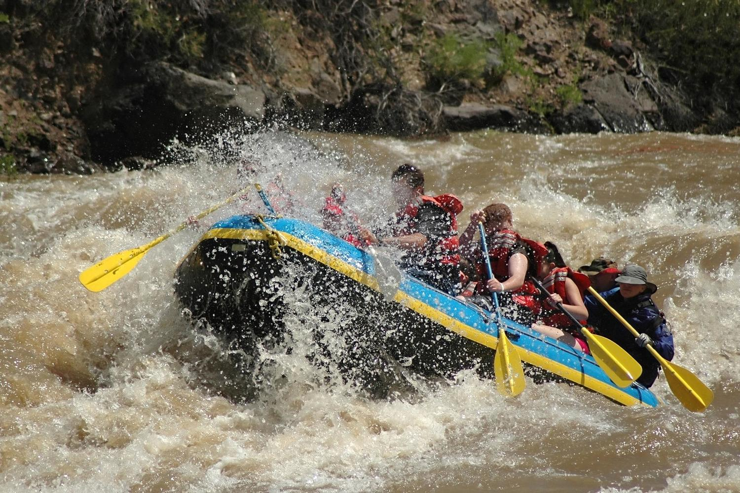 Fantastic rafting on the upper Urubamba River
