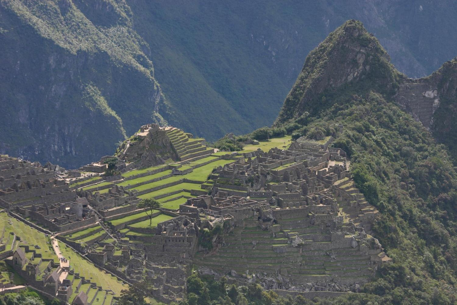 Your first views of Machu Picchu from the Inca Trail
