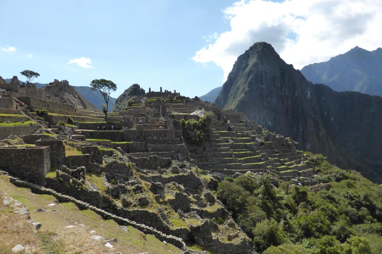 Enjoy time to wander through the enormous citadel of Machu Picchu