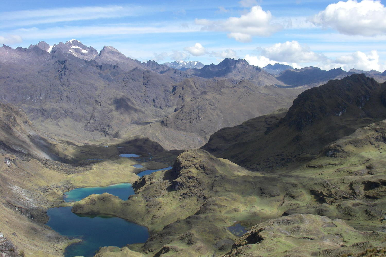 Spectacular views on the Lares trek