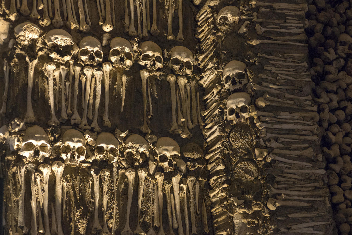 Stark reminder of mortality in the eerie Chapel of Bones in Evora