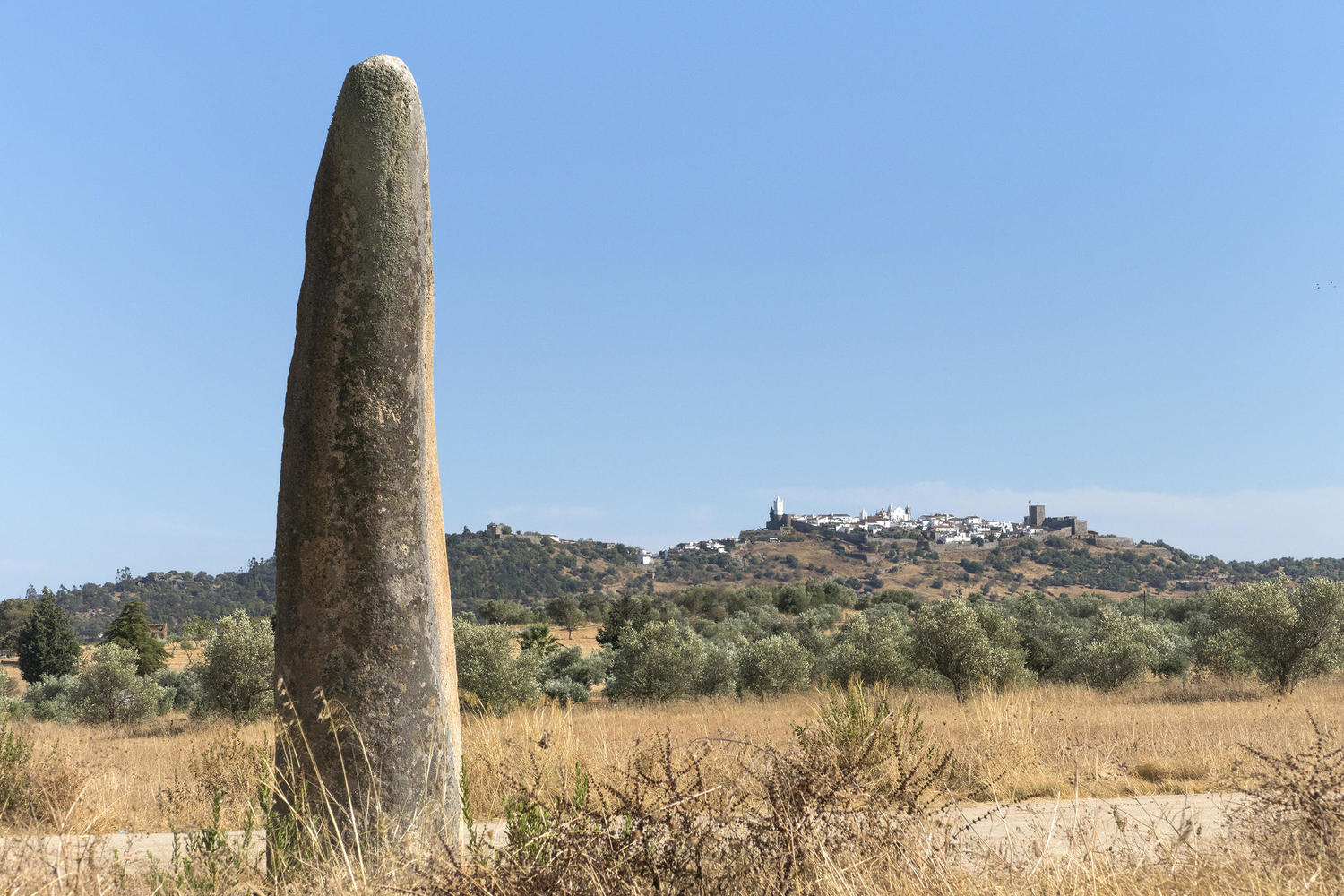 The menhir of Monsaraz
