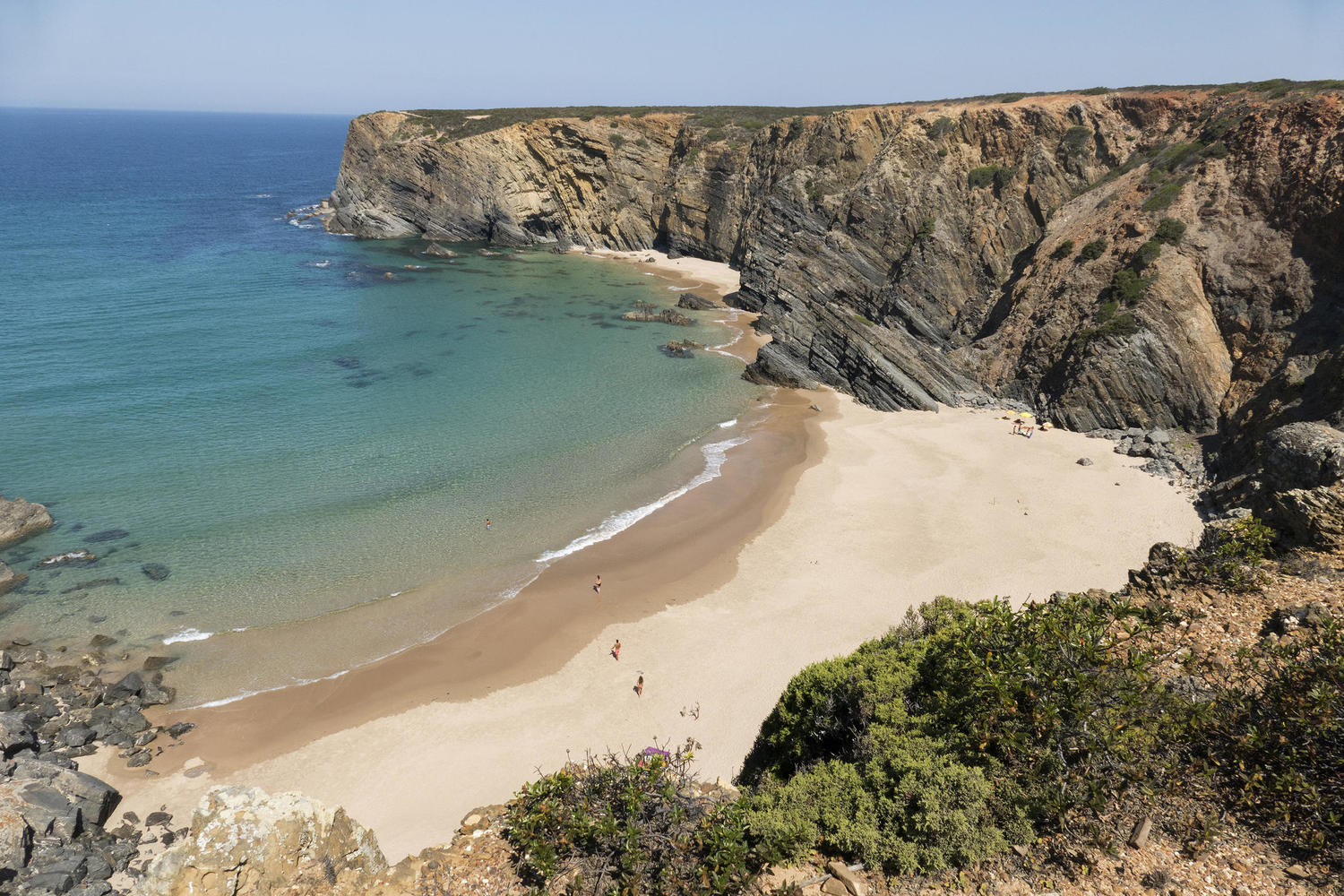 Empty beach on the Alentejo coast