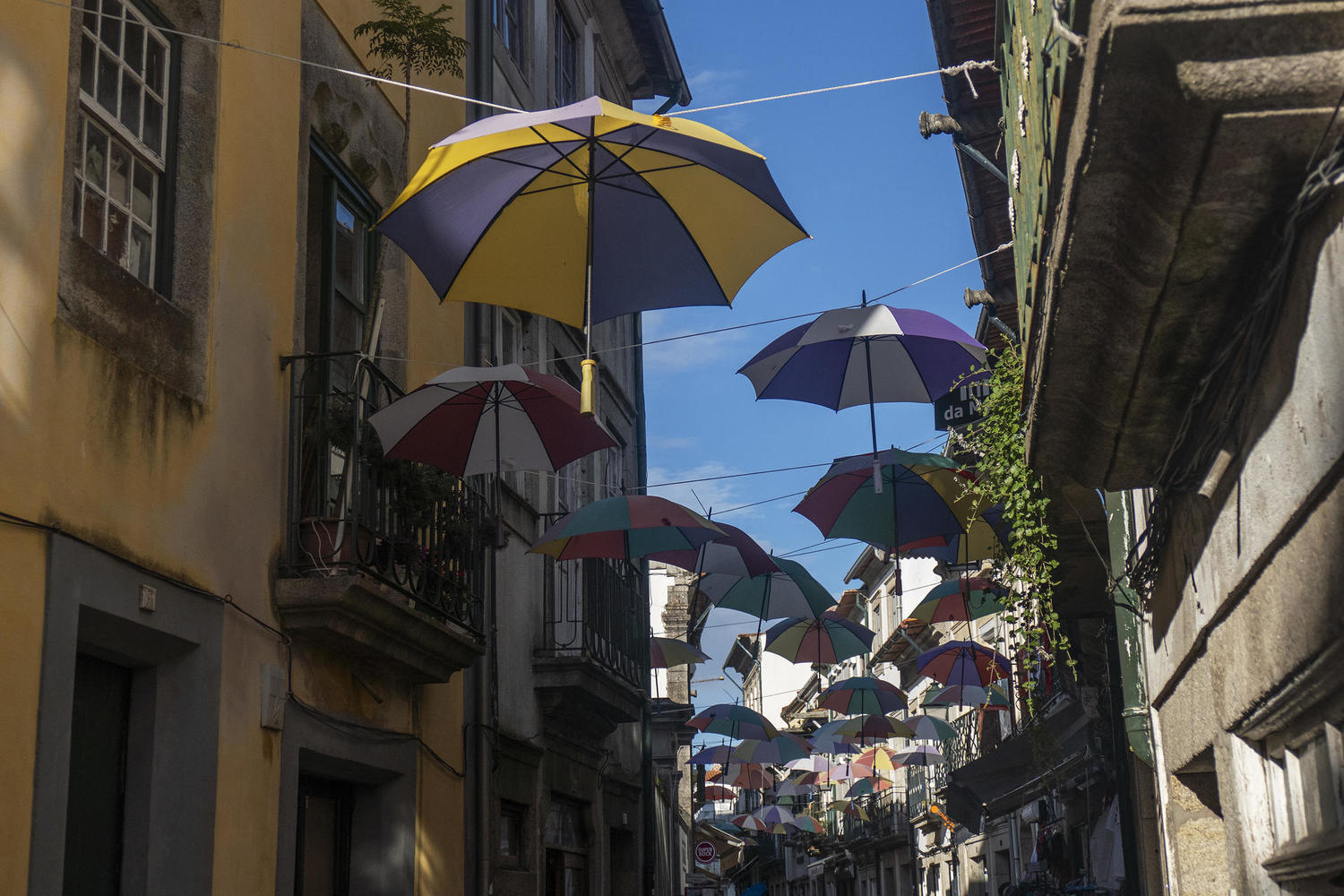 Decorated streets of Viana do Castelo