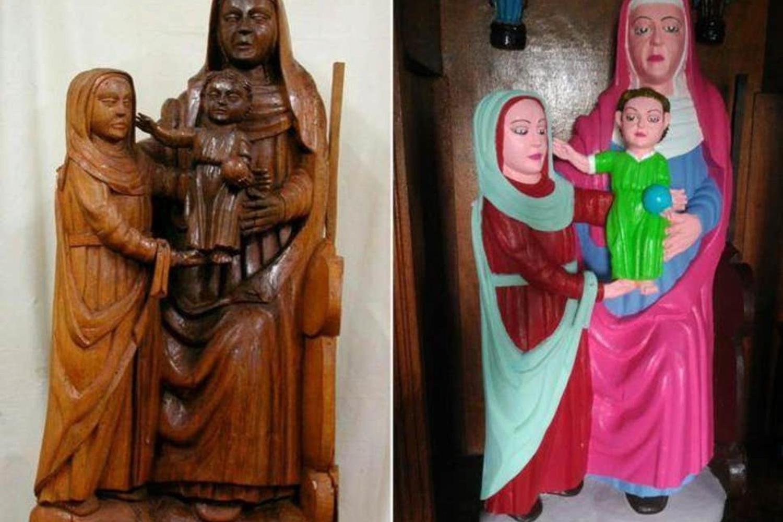 Asturias statue restoration