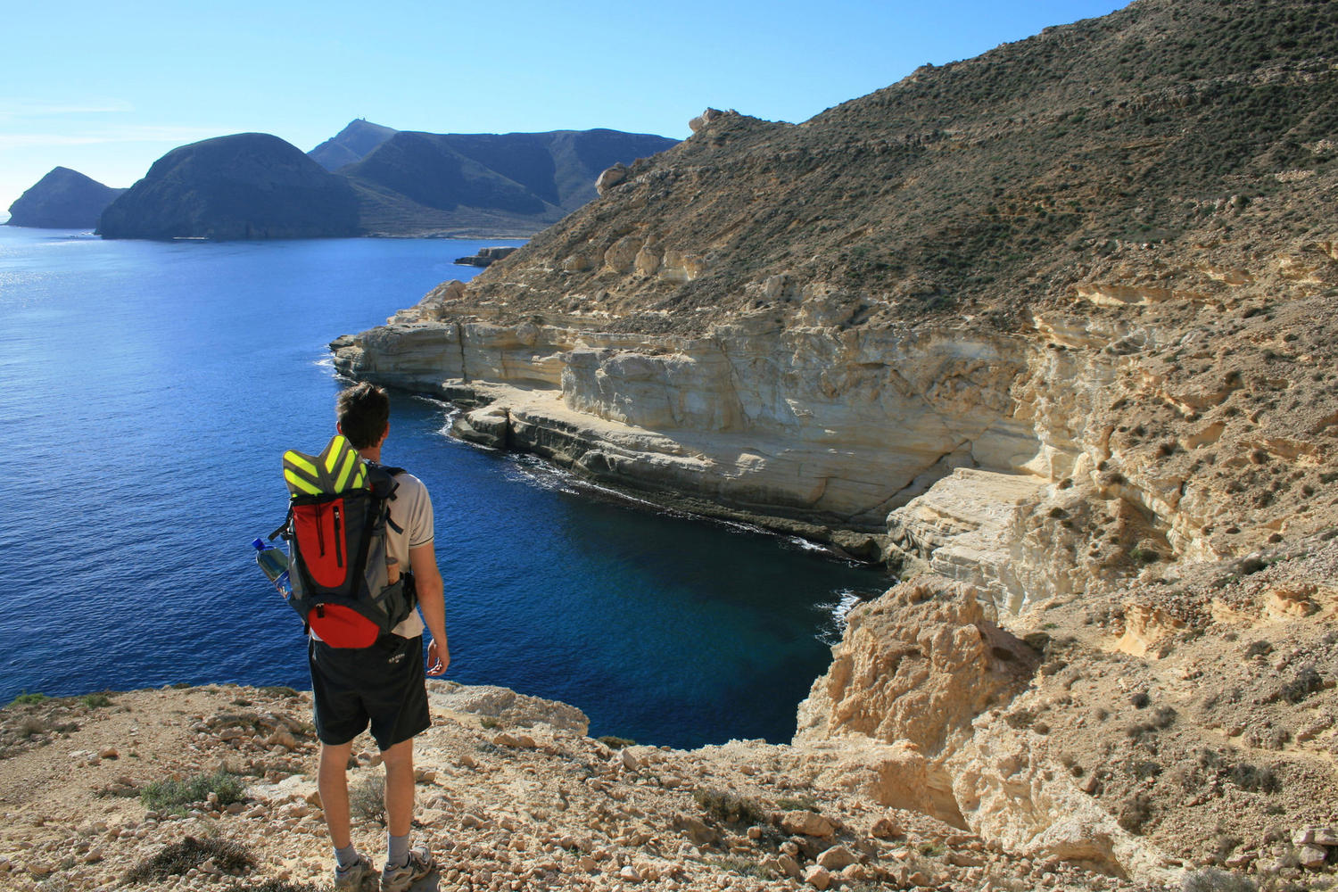 Hiking and snorkelling are the ways to explore Cabo de Gata.