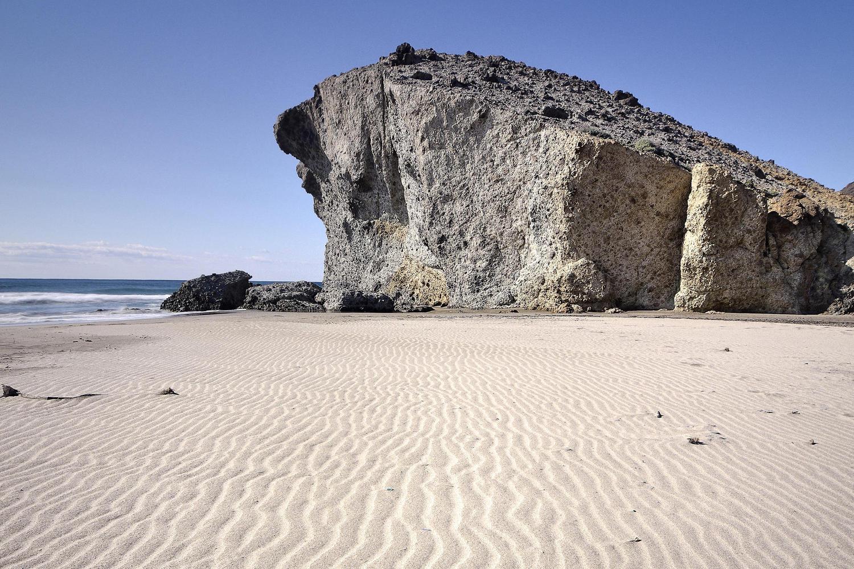 Mónsul beach has featured in a few Hollywood movies.