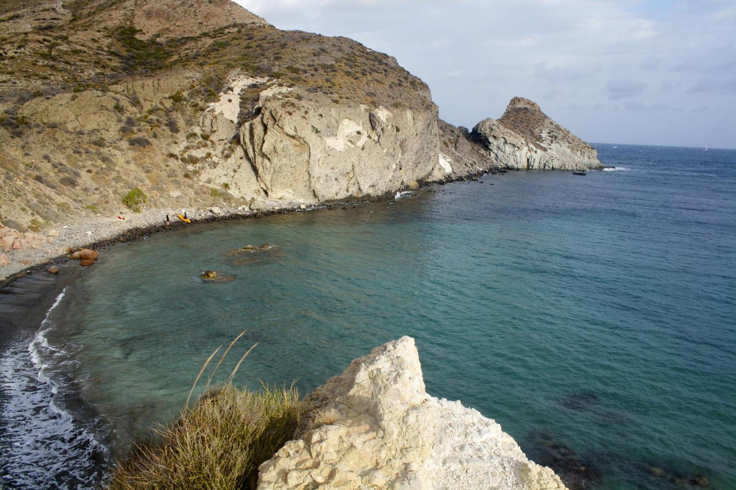 The protected marine reserve of Cabo de Gata