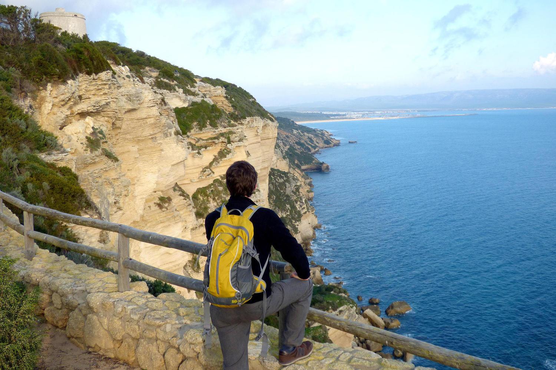 Las Breñas cliffs in Barbate