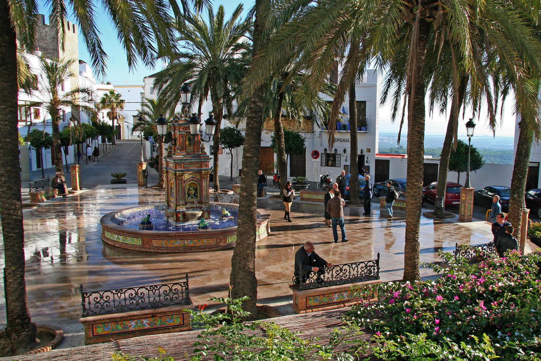 Vejer de la Frontera main square