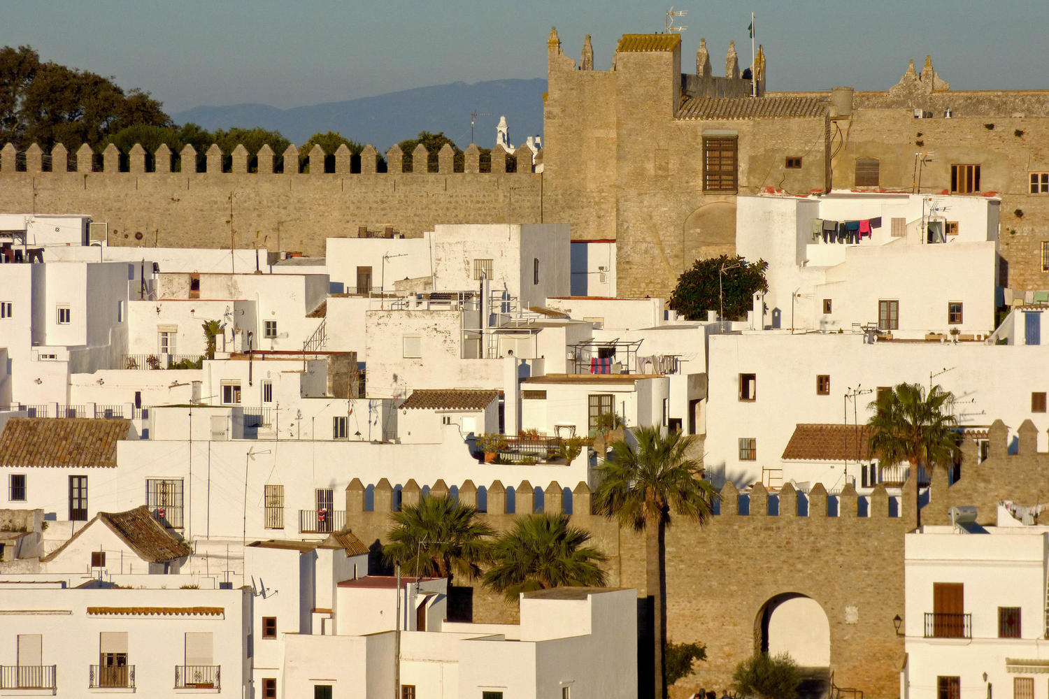 Moorish heritage in the village of Vejer de la Frontera, Cadiz
