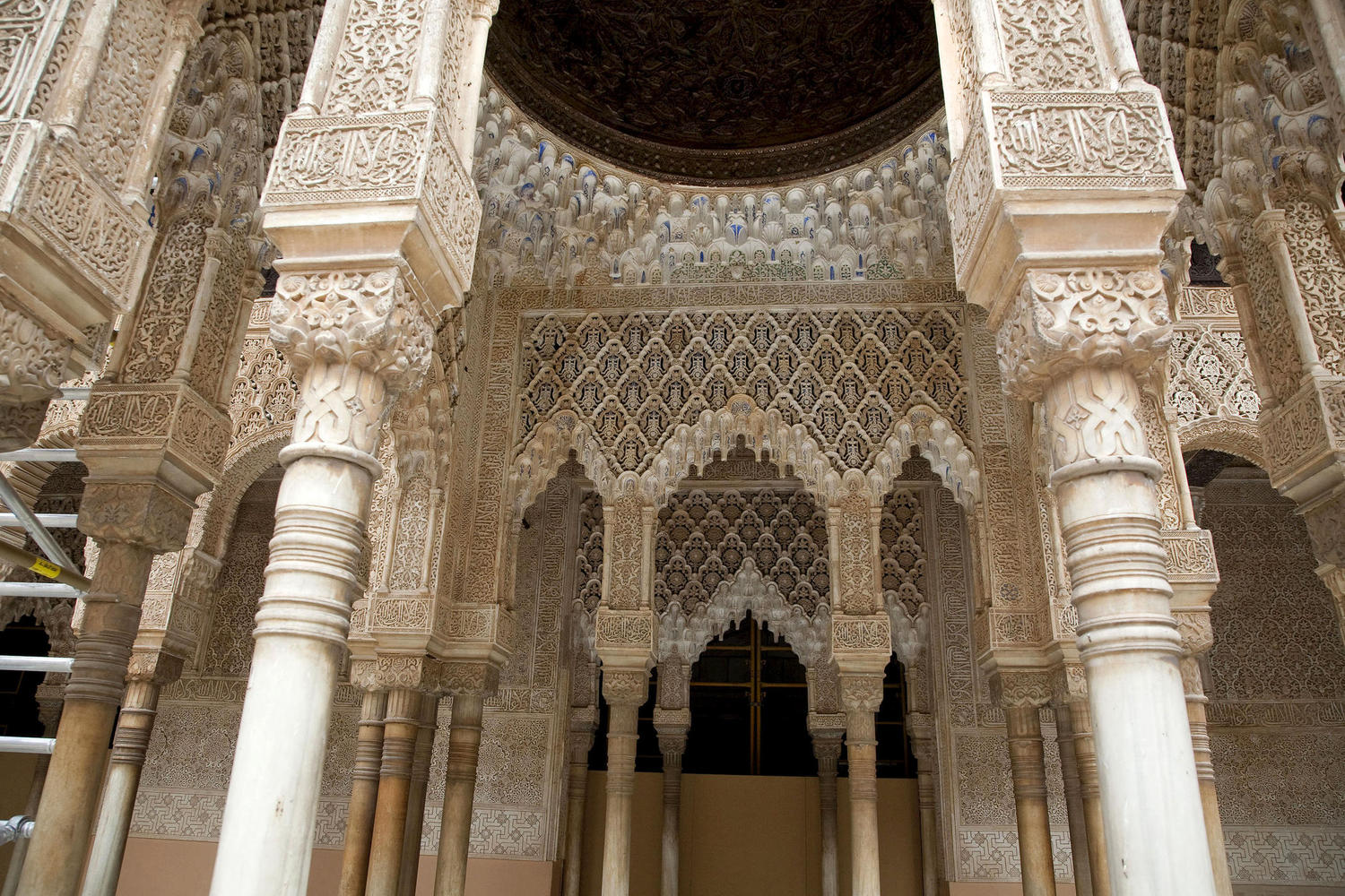 The Alhambra represents one of the finest examples of Islamic art in the world.