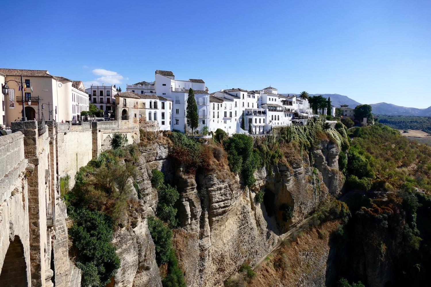 The Tajo gorge in Ronda