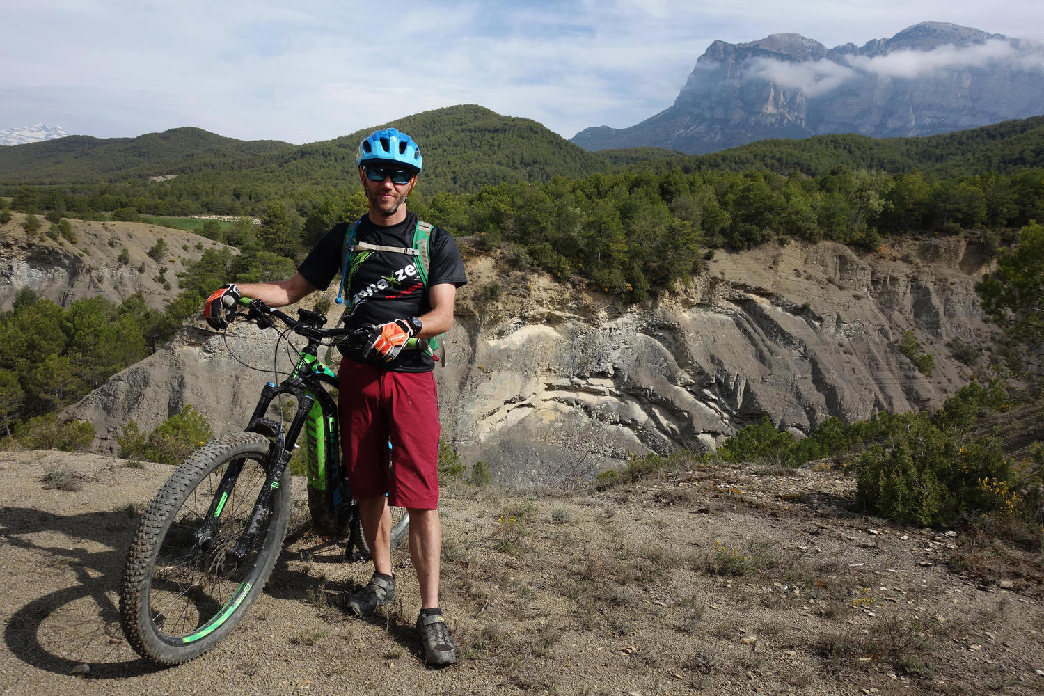 Guided eBiking with Sergio in the high Pyrenees